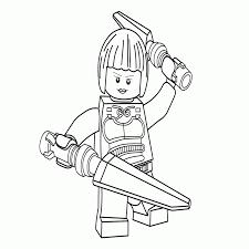 10 lego ninjago kleurplaat