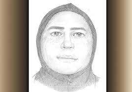 police release sketch of man suspected of sexually assaulting