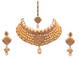 fashion jewellery necklace sets images Sitashi ethenic gold plated antique imitation jewellery wedding jpg