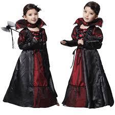Dracula Halloween Costume Aliexpress Buy Children Girls Princess Vampire Costumes