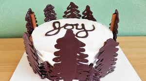 Christmas Cake Decorations Made From Icing by How To Make A Chocolate Christmas Tree Cake With Jill Youtube