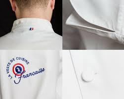 broderie veste de cuisine la veste de cuisine française ulule