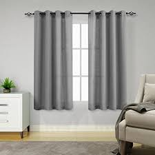 Grey Sheer Curtains Grey Sheer Curtains For Living Room 63 Inches Length
