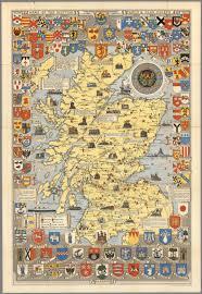 Map Og Historical Map Of Scotland By L G Bullock John Bartholomew