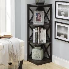 Corner Unit Bookcase Beachcrest Home Stoneford Corner Unit Bookcase Birch