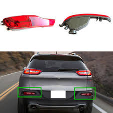 2016 jeep cherokee tail lights for jeep cherokee 2014 2016 reflector housing tail bumper l fog