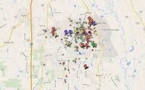 Macon Ga Zip Code Map by Crime Map News Macon Com U0026 The Telegraph
