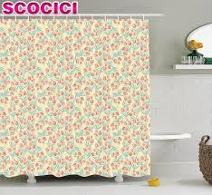 online get cheap spring blossom shower curtain aliexpress com