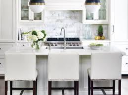 Cool White Subway Tile Backsplash My Home Design Journey - Backsplash for white cabinets