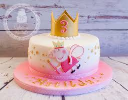 peppa pig birthday cakes peppa pig cake 3rd birthday blackpool based cake maker and