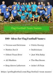 100 Pics Flags Flag Football Team Names Good Funny Best Of Winter 2018