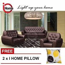 i home angela 123 seater sofa set leather sofa upholstery