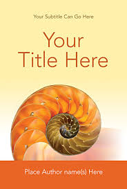 custom book cover design template for 6x9 from