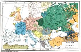 World War 2 In Europe And North Africa Map by Racial Ethnic Map Of Europe 1919
