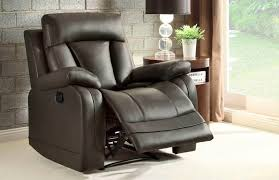 Grey Leather Recliner Gorgeous Grey Leather Recliner With Royce Leather Recliner Crate