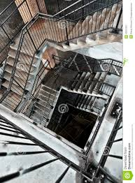 Looking Down Stairs by Parking Garage Stairwell Stock Photo Image 40537607