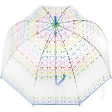totes classic canopy clear bubble umbrella walmart com