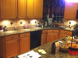 granite countertop kitchen paint colors with golden oak cabinets
