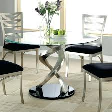 round glass top pedestal dining table glass round dining tables irrr info