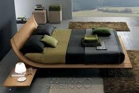 Platform Bed With Nightstands Attached Aqua 2 Designer Platform Bed By Presotto House Pinterest