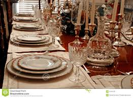 How To Set A Formal Dining Room Table Formal Place Setting Stock Photo Image Of Plate Meal 2794128
