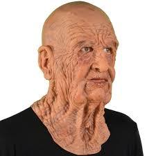 Halloween Costumes Man Realistic Man Mask Super Soft Usa Latex Creepy Scary