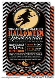 Halloween Costume Party Invitations Pin Witch Halloween Party Invitations Vintage Halloween