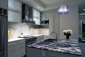 Blue Kitchen Countertops by Blue Granite Countertops Kitchen Mediterranean With Blue French