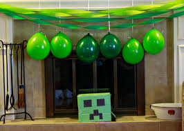 minecraft party decorations minecraft party decorations minecraft b day party