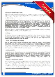 licensing agreement template free 115 best free legal forms images on pinterest templates free