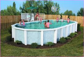 Backyard Landscaping Ideas With Above Ground Pool Above Ground Pool Landscaping Ideas Photos Home Design Ideas