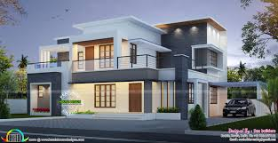 elevation contemporary home jpg 1 600 826 pixel kerala flat