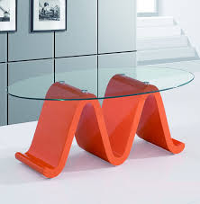 Base For Glass Coffee Table Elegant Glass Coffee Table Design With High Glossy White Base
