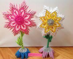 3d Flower Vase 3d Origami Flower Vase 3d Origami Vase With Por