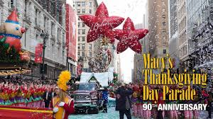 macy s thanksgiving day parade by central park