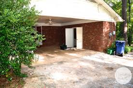 Open Carport by Turning A Carport Into Bedrooms Plantation Relics
