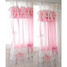 Ruffled Pink Curtains Pink Ruffled Curtains 100 Images Ruffle Curtain Pink Ruffle