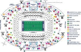 stadium maps attstadium
