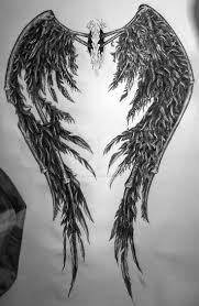 32 best angel wings tattoo 2 images on pinterest angel paintings