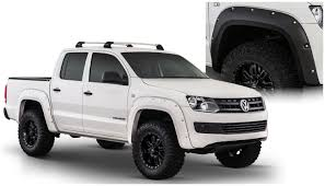volkswagen amarok custom bushwacker pocket style fender flares for vw amarok 171001 02