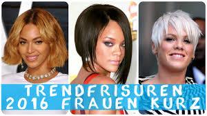 Kurze Trendfrisuren by Trendfrisuren 2016 Frauen Kurz