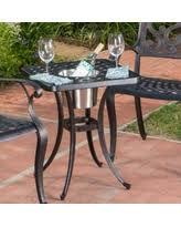 Expandable Bistro Table Snag This Sale 10 Abigail Outdoor Cast Aluminum