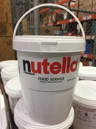 Costco Dog House This Costco Size Nutella Bucket Mildlyinteresting