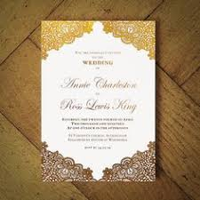 muslim wedding invitation gold damask brocade muslim wedding card weddings wedding card