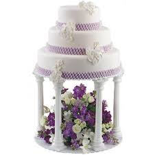 cake pillars 4pcs pillars tiers plate set wedding cake kitkiwi