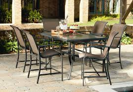 Solana Bay 7 Piece Patio Dining Set - high dining patio set