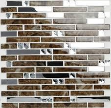 Stainless Steel Mosaic Tile Backsplash by Glass Mosaic Tile Backsplash Stainless Steel Mosaic Tiles Ssmt051