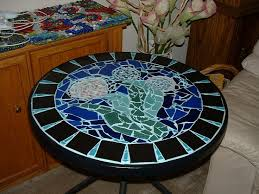 Mosaic Patio Furniture by 54 Best Tables Images On Pinterest Mosaic Art Mosaic Ideas And