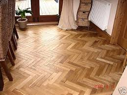 solid oak parquet wood flooring not reclaimed saving labour