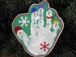 ornaments handprint ornaments or